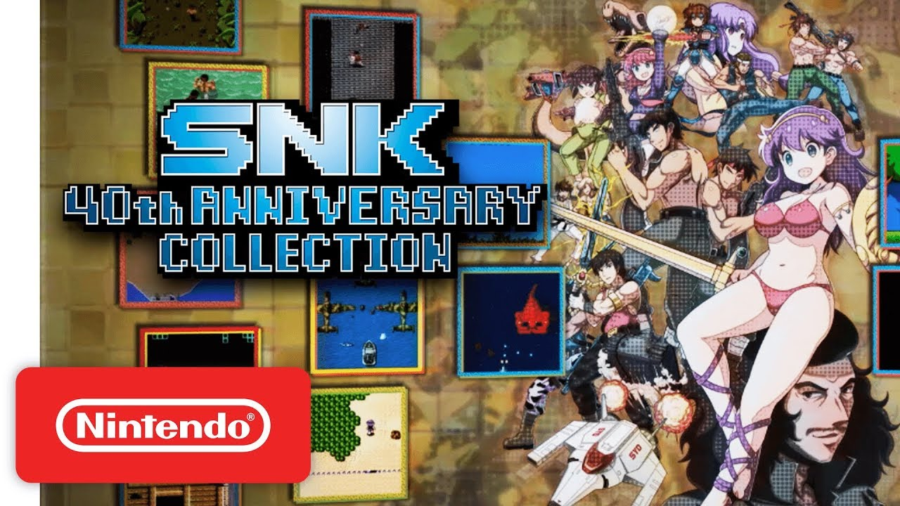 SNK 40th ANNIVERSARY COLLECTION - Launch Trailer - Nintendo Switch