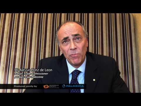 Middle East Business News: Interview with Mr Alessio Ponz de Leon