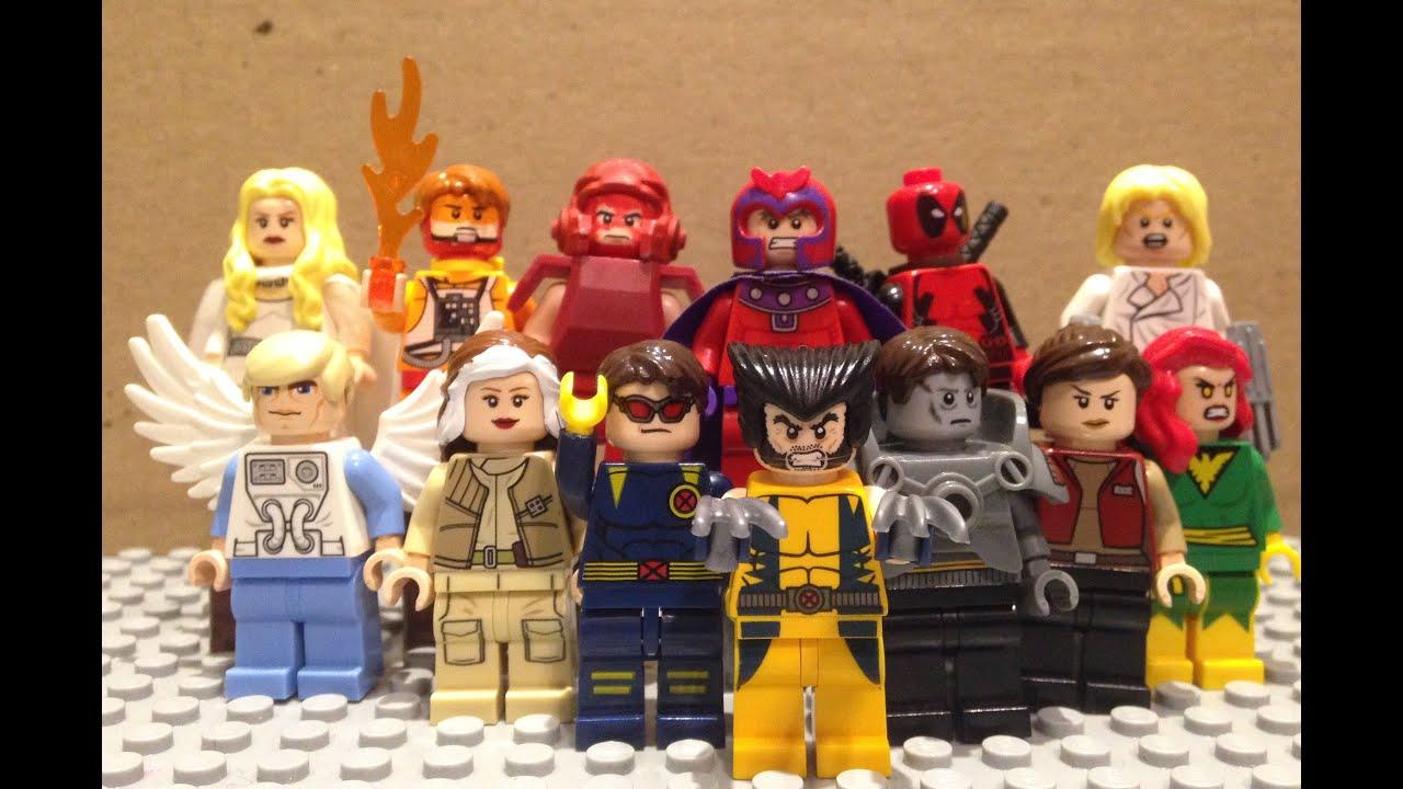 Lego X Men Minifigures