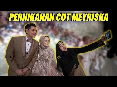 HAPPY WEDDING CUT MEYRISKA! Mewah Banget😍