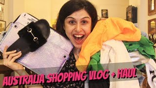 Australia Shopping Vlog + Haul!!!