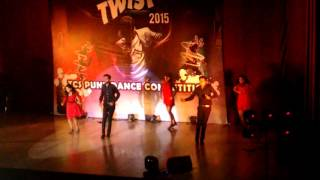 Bollywood salsa group dance