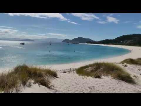 My first trip to Vigo - Islands of Cies 2016 - 4K 18Mbps