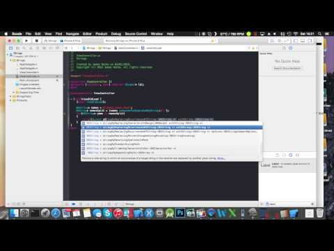Working With Strings - Objective-C - XCode 6.1