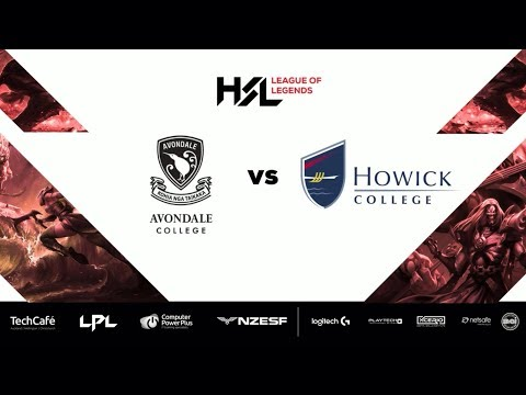 HSL1 2017 - Avondale College VS Howick College