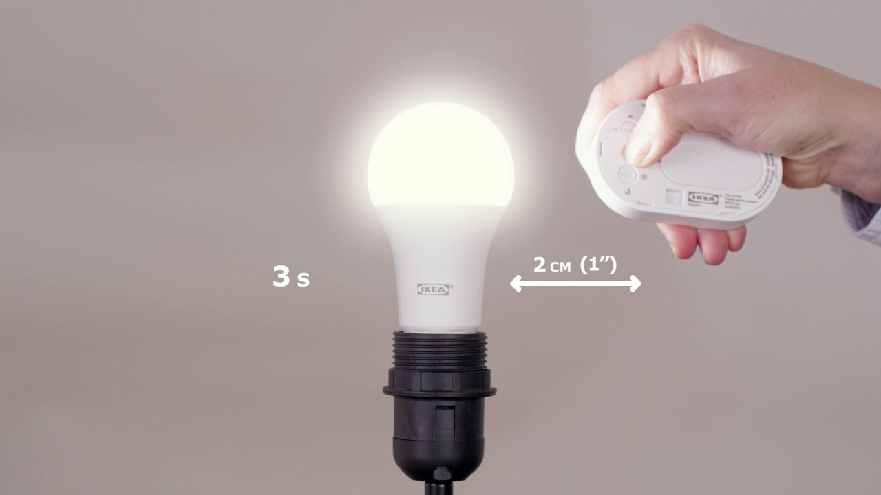 Clean How to add a light bulb to your TRÅDFRI motion sensor kit