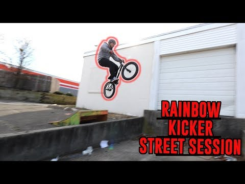 RAINBOW KICKER STREET RIDING!