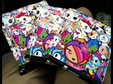 TOKIDOKI Notebook/Planner unwrapping!