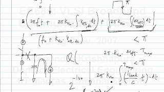 lecture43 - Reference feedthrough in a type II PLL, Phase detector for random data