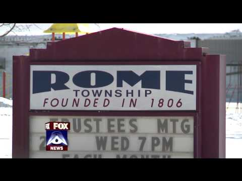 "Fox 8 News | Melissa Reid ""Live"" in Rome, Ohio"