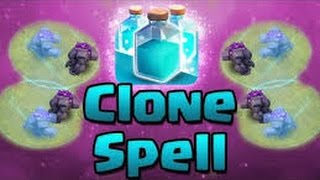 Clash Of Clans-First ever clone spell attacks