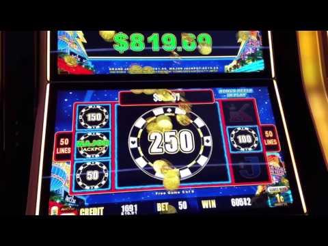 Major Jackpot River City Casino, St Louis MO March 10, 2017, Lightning Link