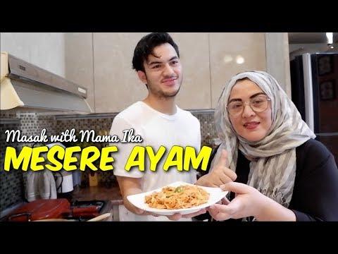 Masak With Mama Ika: Mesere Ayam (Ayam Suwir Bali)