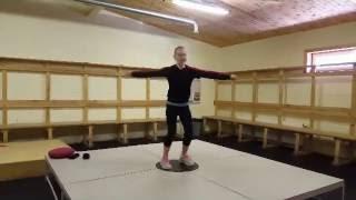 Вестибулярный тренажёр для фигуристов. Сборы у А. Рябинина  | Figure skating camp