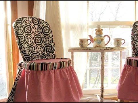 Чехлы на венские стулья своими руками