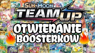 NOWE BOOSTERY POKEMON TEAM UP!