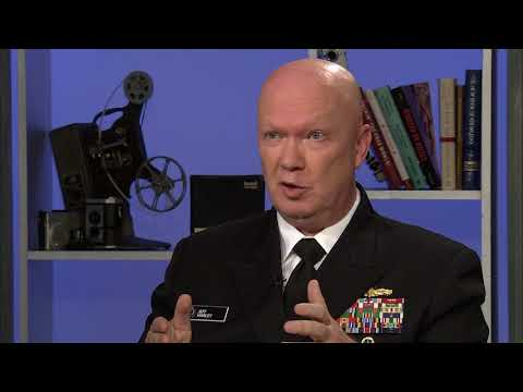 """""""Story in the Public Square"""" Rear Admiral Jeffrey Harley"""