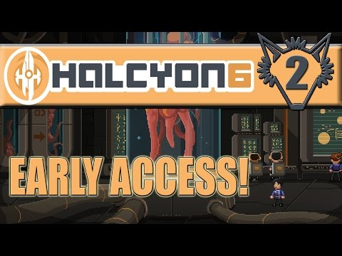 Halcyon 6: Starbase Commander | Expand the Crew, Building New Ships | Part 2 | Gameplay Let's Play