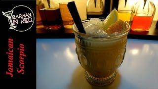 cómo hacer el coctel JAMAICAN SCORPIO