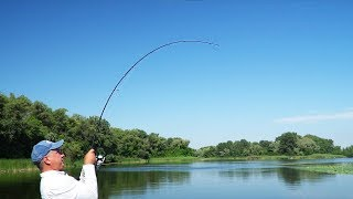 Рыбалка на новинку ФАНАТИК. Спиннинг для щуки и окуня. Тестируем китайцев.