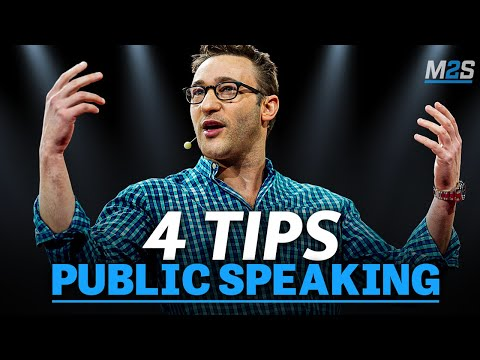 4 Tips To IMPROVE Your Public Speaking - How to CAPTIVATE an Audience