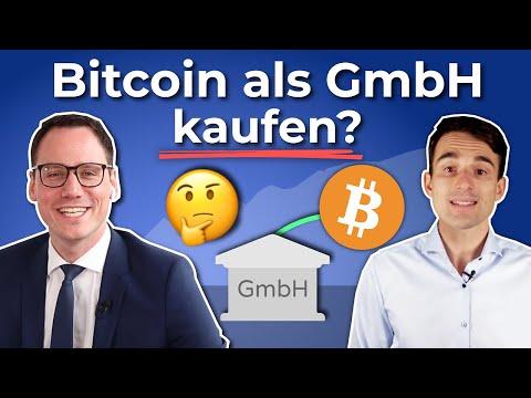 In Bitcoin investieren als Unternehmen, Holding, GmbH? Steuerberater Prof. Dr. Juhn im Interview 2/2