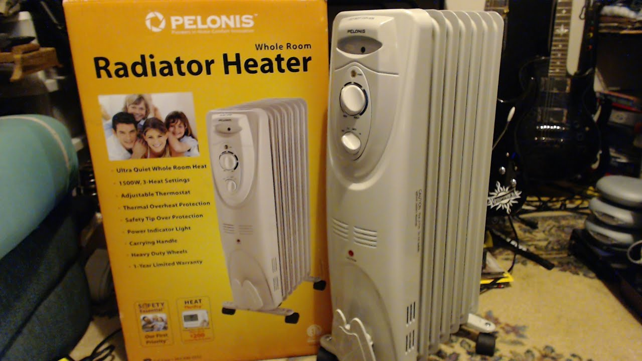 Pelonis home electric radiator portable heater | ebay.