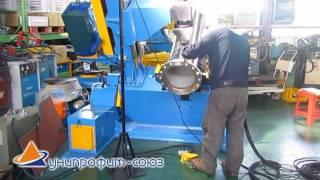 Применение трубного вращателя для аргонодуговой  сварки  (приварки) фланца(, 2016-09-05T13:24:41.000Z)