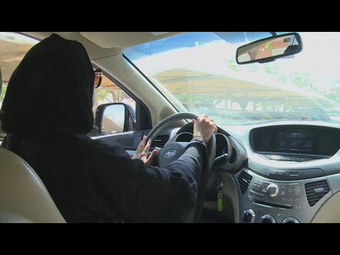 In Saudi Arabia women drivers hit the road