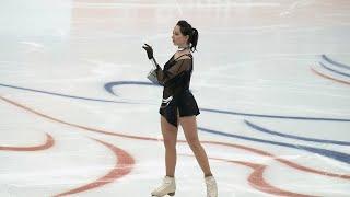Elizaveta Tuktamysheva Russian Cup Final SP Туктамышева Финал Кубка России КП 27 02 2021