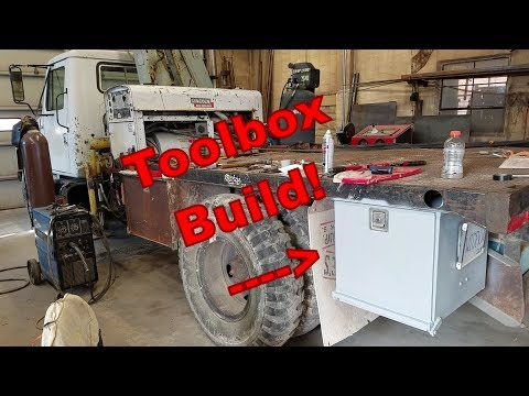 Building a Truck Tool Box (For my welding truck)