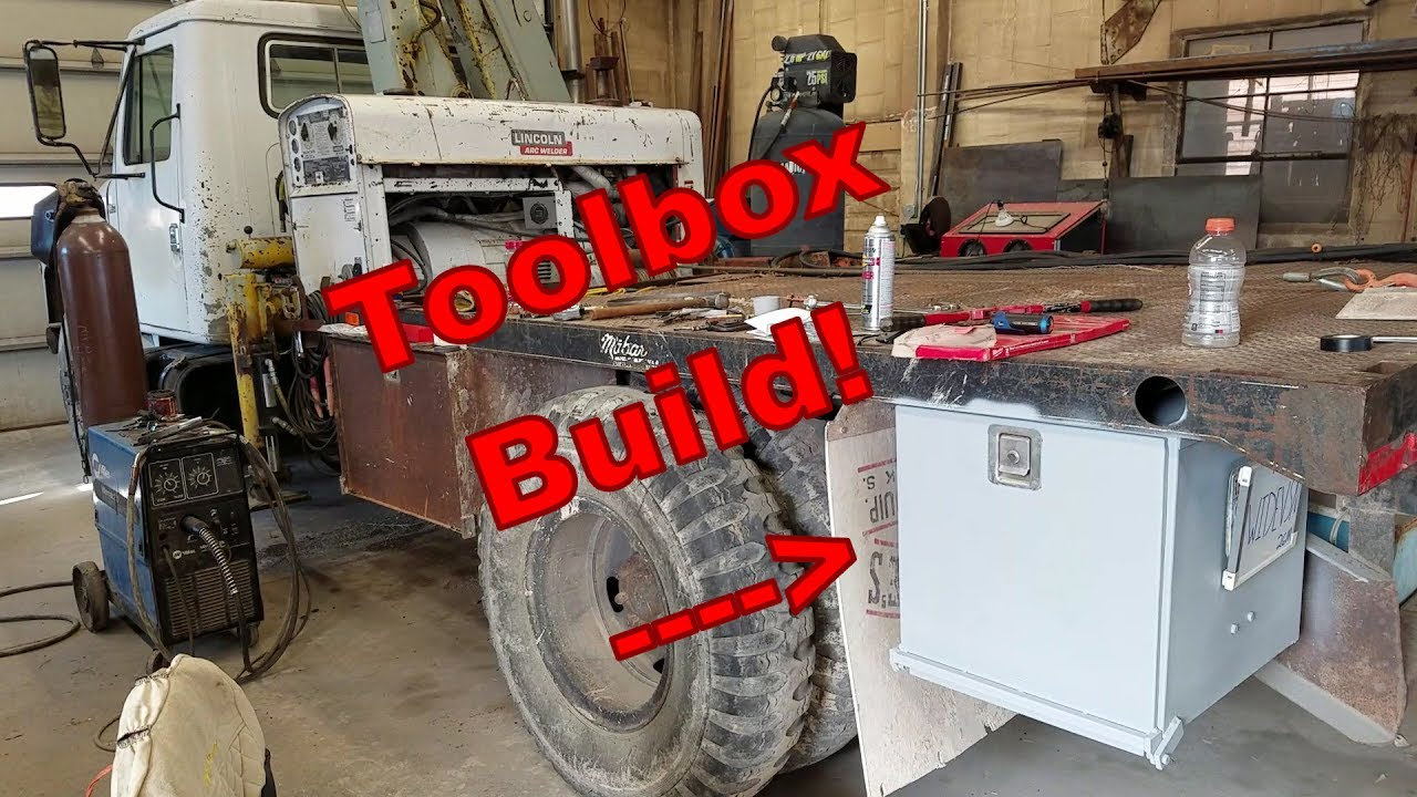 Steel Truck Tool Box >> Building a Truck Tool Box (For my welding truck) - YouTube