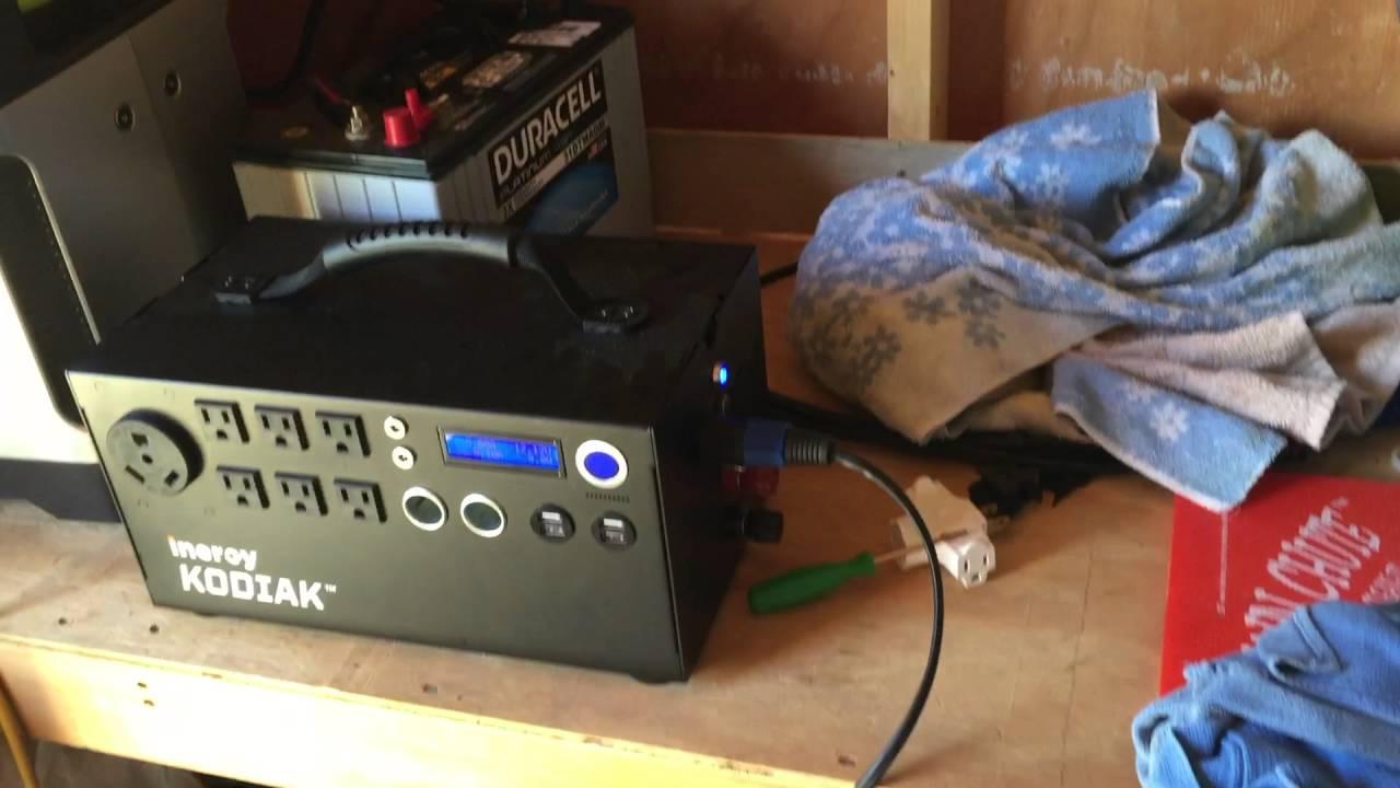 Kodiak Solar Generator Charging Youtube