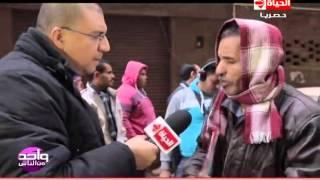 واحد من الناس -  لقاء مع سيد  ابن ام بكار ويشرح رد فعله بعد عودتها إلي الحياة مرة أخرى