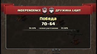 Дуэль INDEPENDENCE vs ДРУЖИНА LIGHT