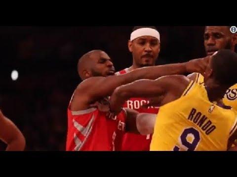 ДРАКИ В НБА 201819