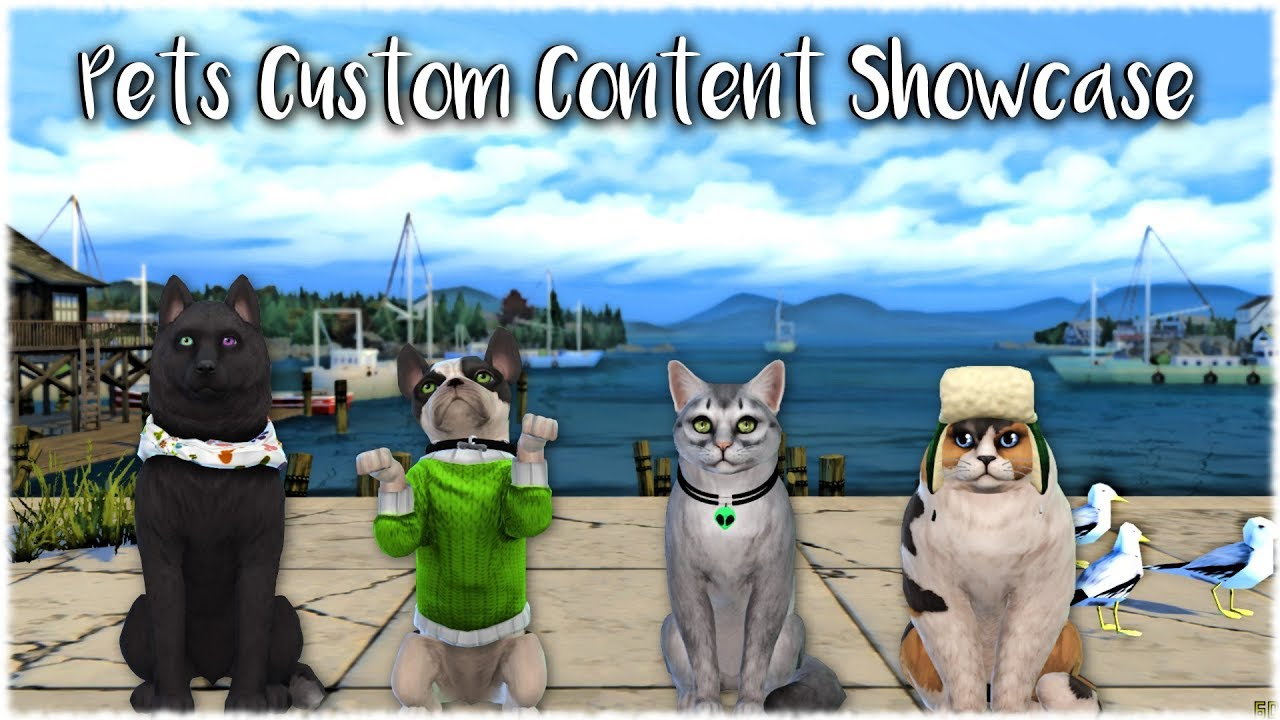 The Sims 4 Cats And Dogs Cc Showcase Youtube