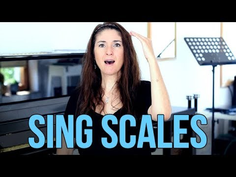 You MUST Sing SCALES!!! This will improve your singing!