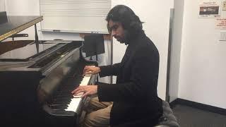 Ahmad Zaher, Bacha Nasho Ay Del, Piano Instrumental Milad Yousufi