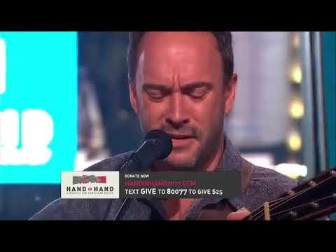Dave Matthews - Mercy - 9/12/17 - Hand in Hand Telethon