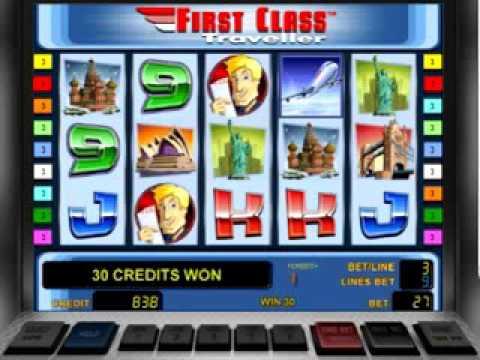 Игровые Гейминатор слоты First Class Traveller от Novomatic на сайте Sqancheli.com