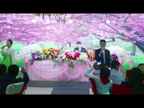 Rare look into a North Korean wedding reception in Pyongyang