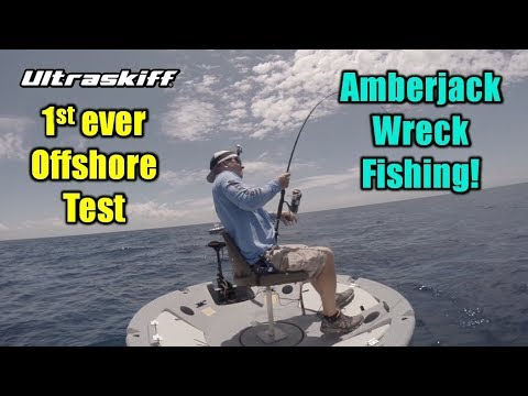 First Ever Offshore Test of Portable Fighting Chair! Ultraskiff 360 Watercraft