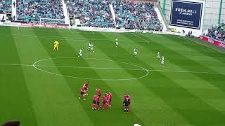 Before Hibernian vs Celtic 21.4.18 (fan angle)