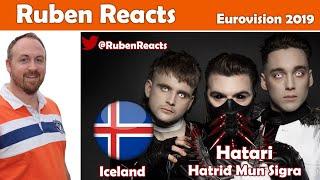 Hatari - Hatrið Mun Sigra - Iceland 🇮🇸 - National Final Performance - Eurovision 2019 - Reaction