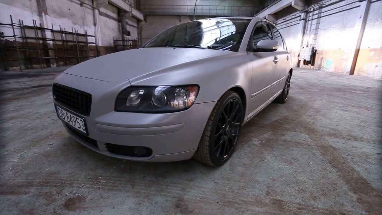 Volvo S40 Custom Gray Plasti Dip by AutoWorks - YouTube