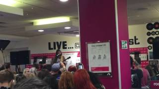 Biffy Clyro - Rearrange (Live at HMV Argyle Street - Glasgow)