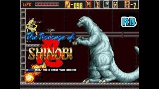 1989 [60fps] The Revenge of Shinobi (Mega-Tech) 1764600pts ALL SECRET BONUS