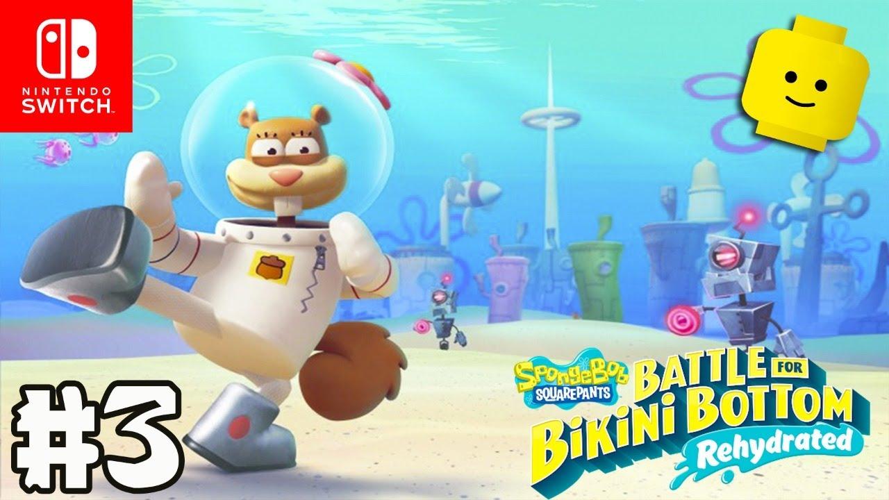 SpongeBob Squarepants: Battle For Bikini Bottom - Rehydrated #3   Nintendo Switch