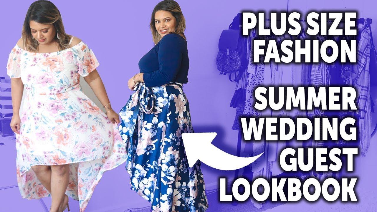 2019 Summer Lookbook - Plus Size Wedding Guest Look Book